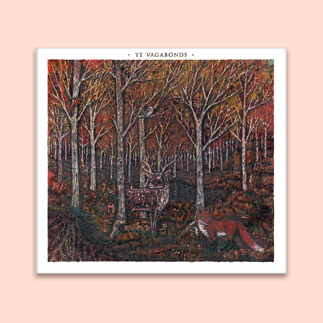Ye Vagabonds album cover front design